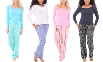 Alexander Del Rossa Women's Pajama Set. Plus Sizes Available.