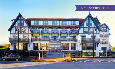 Knokke : 1 à 2 nuits avec petit déjeuner et dîner ou plateau de fruits de mer en option au Memlinc Palace Hôtel pour 2