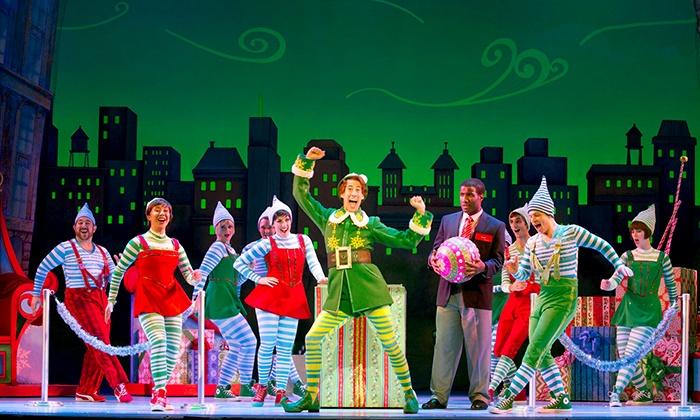 """ELF The Broadway Musical""  - Citi Performing Arts Center Wang Theatre: ""ELF The Broadway Musical"" on November 17, 18, 19, 24, or 25, or December 1, 2, or 3 at 7 p.m."