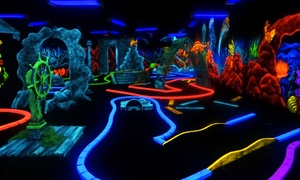 Junction Lanes Family Entertainment Center: Bowling Package for Five with Optional Mini Golf at Junction Lanes Family Entertainment Center (Up to 55% Off)