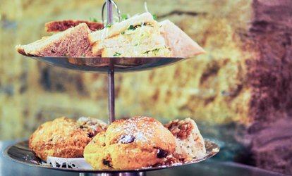 image for Afternoon Tea with Optional Free-Flowing Prosecco for Two or Four at The Keys (Up to 48% Off)