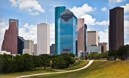 1-Night Stay with Optional Dining Credit, Parking, and Chauffer to Mall at Hotel Derek in Houston