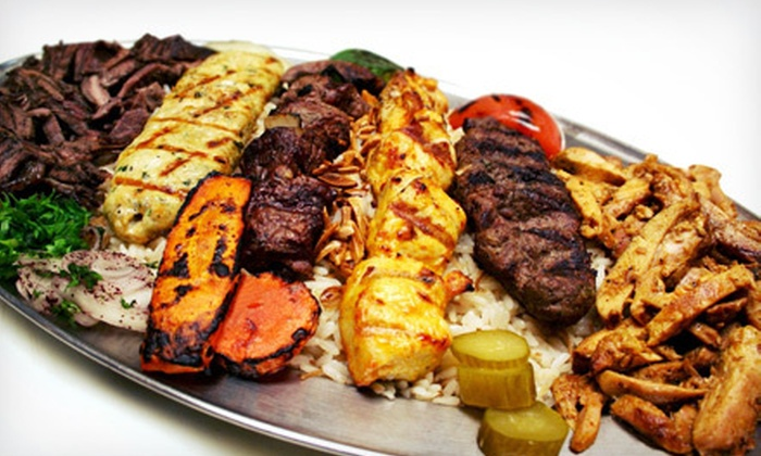 Lebanese Grill - Troy: Lebanese Food for Dinner or Lunch at Lebanese Grill –Troy (Up to 52% Off)