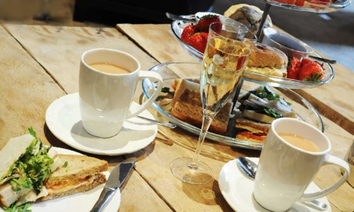 Carmelite Aberdeen - Aberdeen Centre: Afternoon Tea For Two or Four from £9 at Carmelite Aberdeen (Up to 50% Off)