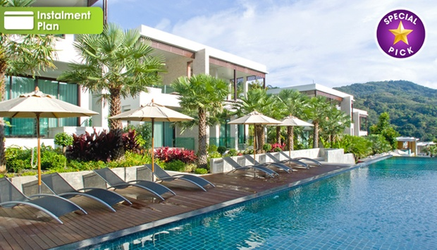 5* Hilltop Hotel in Patong 0