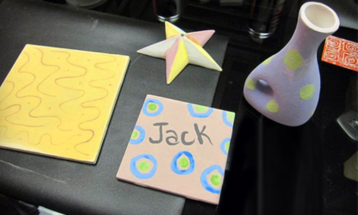 Creation Station - La Vista: $13 for Pottery Painting for Two at Creation Station (Up to $26 Value)