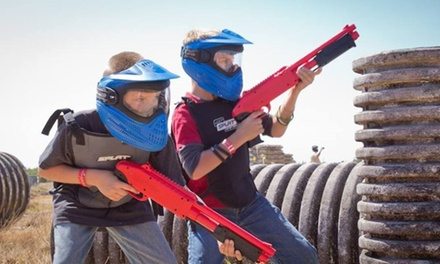 $49 for $99.95 Worth of kids paintball at ACTION PAINTBALL