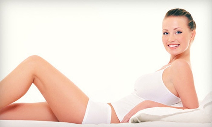 Etherion – Advanced Skincare and Body Center - Etherion Advanced Skincare and Body Centre: Laser Hair Removal on Small, Medium, or Large Body Area at Etherion – Advanced Skincare and Body Center (Up to 72% Off)