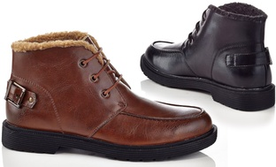 Solo Orvill Mens Combat Boots