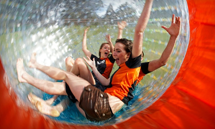 Zorb Smoky Mountains - Pigeon Forge: $20 for an Inflatable Globe Ride at Zorb Smoky Mountains (Up to $40 Value)