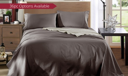 for a 1200TC Egyptian Cotton Sheet Set in Choice of Colour Don't Pay up to $349