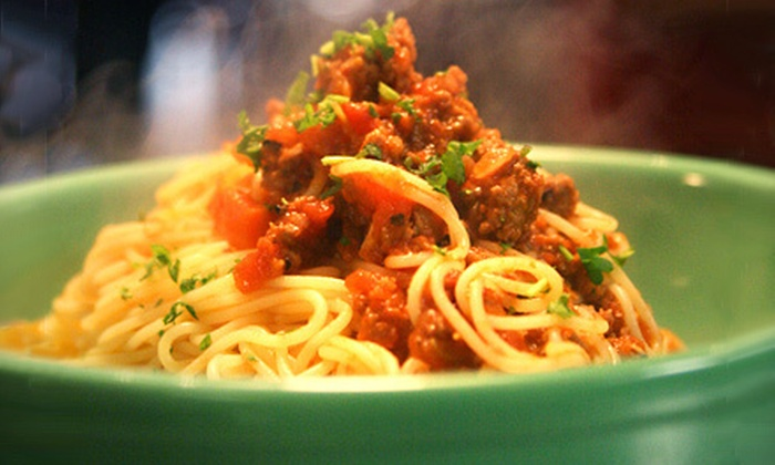 Brioso Fresh Pasta - Downtown,Hollywood: Italian Cuisine and Drinks or Catering at Brioso Fresh Pasta (Half Off)