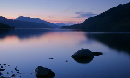 Loch Lomond: 1 or 2 Nights for Two with Breakfast, 3Course Dinner, and Wine or Prosecco at Lomond Park Hotel