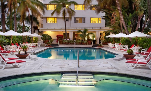 Richmond Hotel - Miami Beach, FL: Stay with Welcome Drinks and Beach-Chair Rentals for Two at Richmond Hotel in Miami Beach, FL. Dates into January.