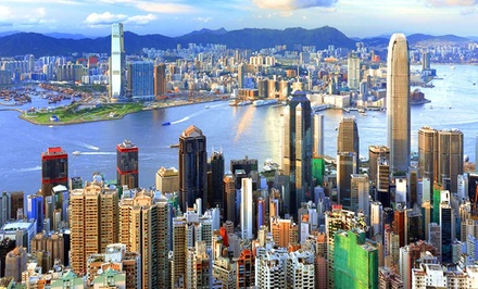 groupon daily deal - 7-Day Hong Kong Vacation with Airfare from Affordable Asia Tours. Price/Person Based on Double Occupancy.