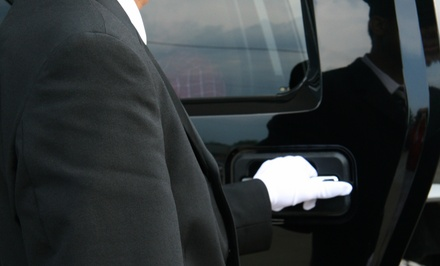 One-Way or Round-Trip Transportation to O'Hare or Midway Airport from AWC Limousines (Up to 56% Off)
