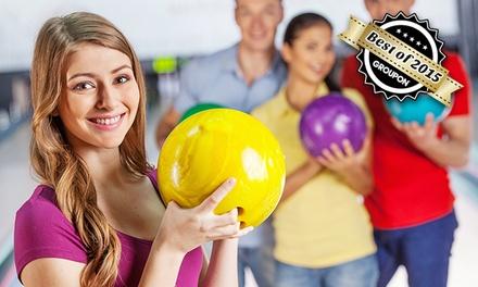 2 Stunden Bowling für Vier, Sechs oder Acht inkl. Fingerfood-Platte bei Bowling im CORSO Hellersdorf ab 21,90 €