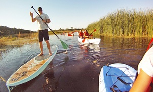 North Guana Outpost: Two-Hour Standup-Paddleboard or Kayak Rentals for One, Two, or Four at North Guana Outpost (Up to 50% Off)