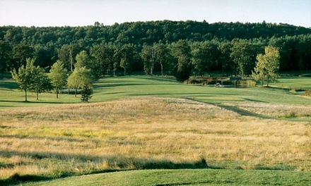 18-Hole Round of Golf with Cart and Range Balls for One, Two, or Four at Rondout Golf Club (Up to 61% Off)