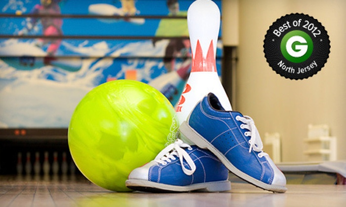 Spins Bowl Grand Prix New York - Mount Kisco: $40 for One Hour of Bowling Plus Arcade Games for Up to Six at Grand Prix New York (Up to $80 Value)