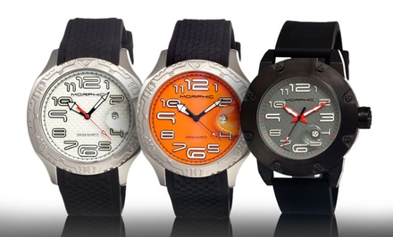 Morphic Men's Swiss Watches. Multiple Styles Available.