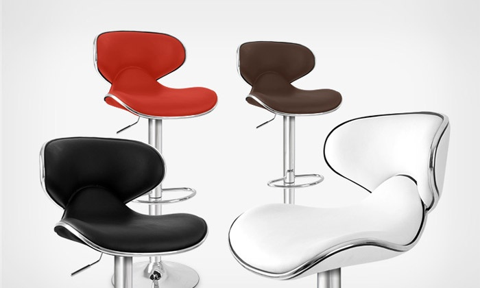 Tabourets de bar simili cuir groupon shopping - Bar moderne a new york avec design en forme de bulle ...