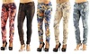 Dylan George Women's Printed Jeans: Dylan George Women's Printed Jeans