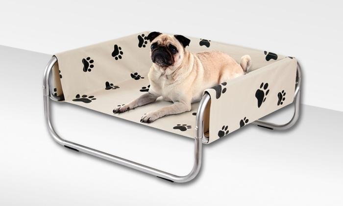 Indoor/Outdoor Elevated Pet Cot: Indoor/Outdoor Elevated Pet Cot. Free Shipping and Returns.