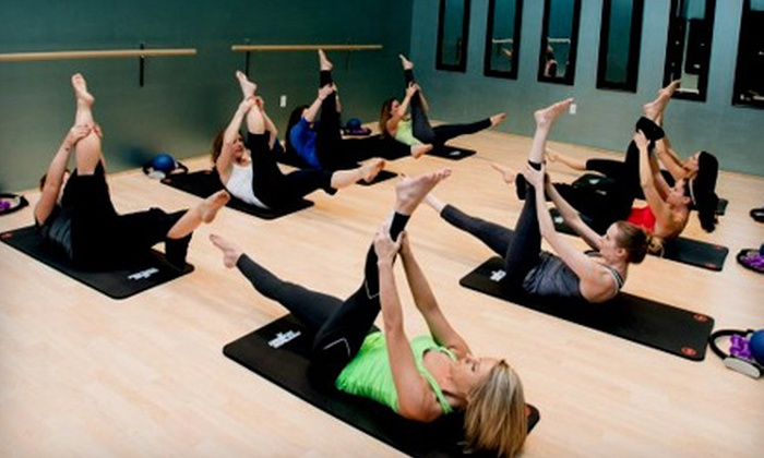 My Thrive Pilates - Multiple Locations: 5 or 10 Group Fitness Classes at My Thrive Pilates (Up to 64% Off). Eight Options Available.