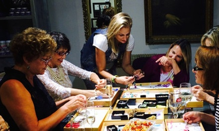 Up to 46% Off Glass or Jewelry-Making Classes at The Creating Spot