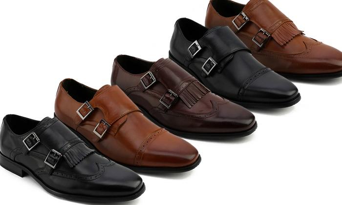 Xray Men's Double Monk Strap Shoes