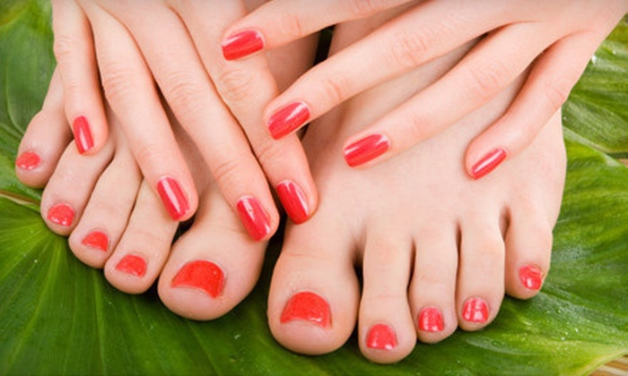Rossie Nail Tech Salon - Hialeah: Mani-Pedi, Shellac Mani-Pedi, or a Full Set of Acrylic Nails at Rossie Nail Tech Salon in Hialeah (Up to 65% Off)