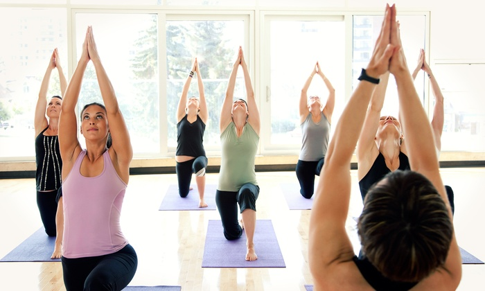Arlington Yoga Center - Arlington Yoga Center: 5 or 10 Yoga Classes or 1 Month of Unlimited Classes at Arlington Yoga Center (Up to 61% Off)