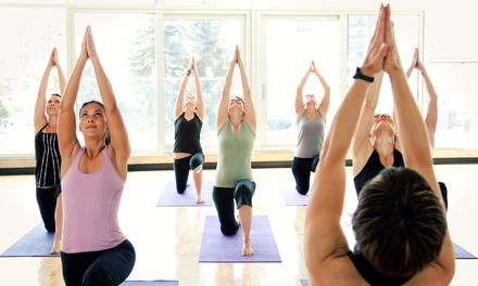 5 or 10 Yoga Classes or 1 Month of Unlimited Classes at Arlington Yoga Center (Up to 61% Off)
