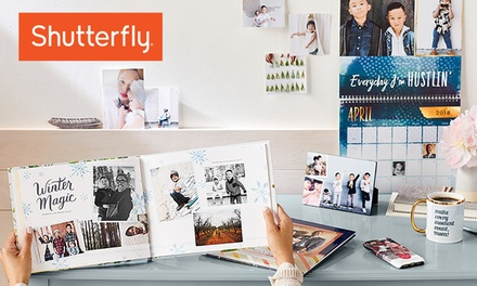 Custom Photo Products from Shutterfly (Up to 50% Off). Five Options Available.