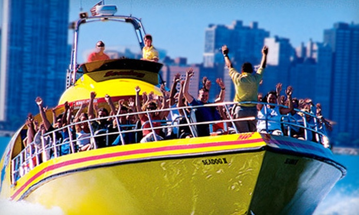 Seadog Cruises - Near North Side: Lakefront Speedboat Tour, Thrill Ride, or Architectural Tour from Seadog Cruises in Chicago (Up to 47% Off)