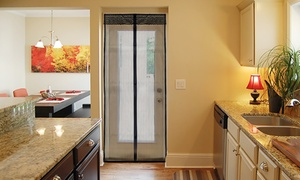 1- Or 2-pack Of Carteret Collection Magnetic Screen Doors From $9.99 To $14.99