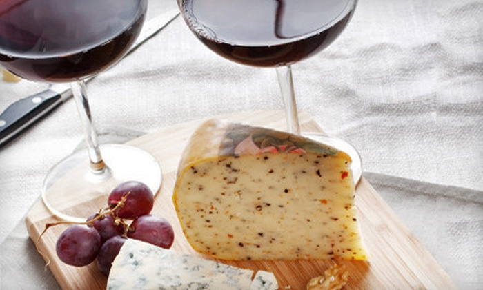 Food & Wine by Nafi - Potomac: Wine Tasting for One or Two at Food & Wine by Nafi (Up to 53% Off)