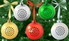 Tree Tunes Bluetooth Ornament Speaker: Tree Tunes Bluetooth Ornament Speaker