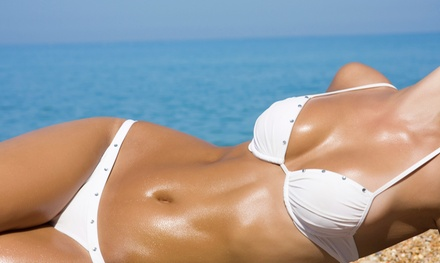One Month of Unlimited Tanning, or 5 or 10 Tanning Sessions at Sawma Haute Coiffure (Up to 61% Off)