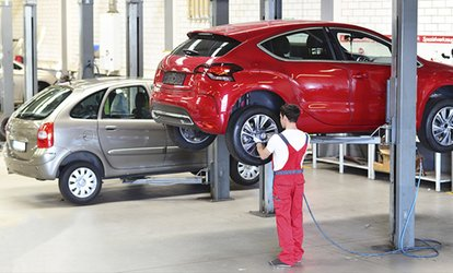 image for A Four-Wheel Tire Alignment with Optional Balance and Rotation at Wheel and Tire Proz (Up to 53% Off)