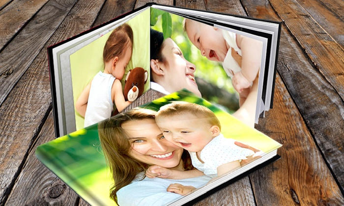 Printerpix: Custom 20-Page Padded Hardcover Photo Book from Printerpix (Up to 81% Off). Four Options Available.