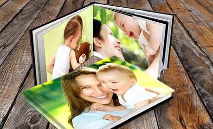 Custom 20-Page Padded Hardcover Photo Book from Printerpix (Up to 81% Off). Four Options Available.