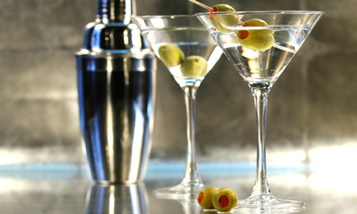 Bonsai Bar & Lounge - Lakeview: Four Small Plates and Martinis or Bottle Service with Mixers and Small Plates at Bonsai Bar & Lounge (Up to 51% Off)