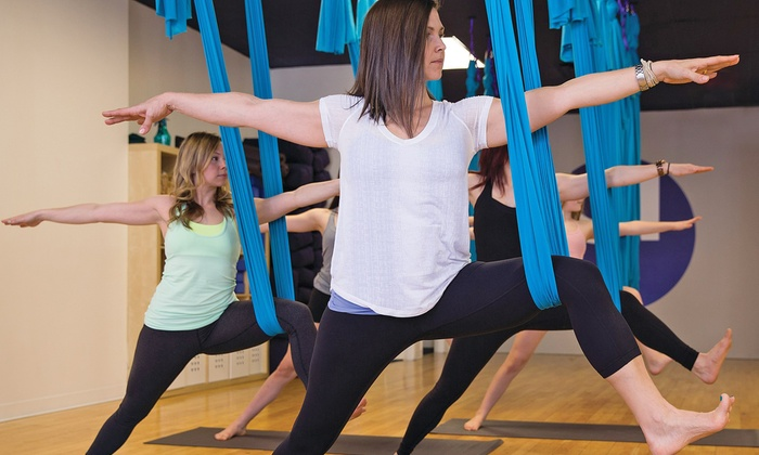 Yoga Generation - Town Centre: Introductory Aerial Yoga Class and 5 or 10 Aerial Yoga Classes at Yoga Generation (Up to 44% Off)