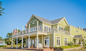Northern California B&B Overlooking the Pacific at Hill House Inn Mendocino, plus 6.0% Cash Back from Ebates.