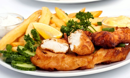 $18 for Two Groupons, Each Good for Two Drinks and Pub Chips at The Irish Pub (Up to $38 Value)
