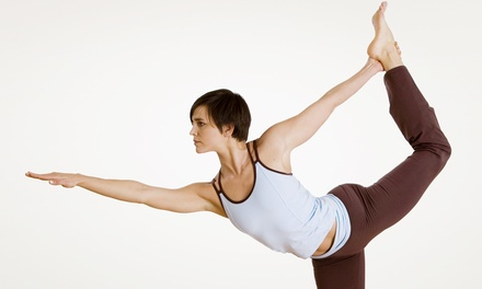 10 or 20 Yoga Classes (Up to 86% Off)