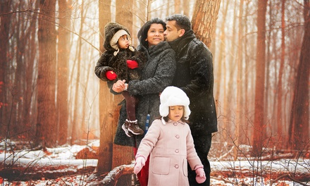 C$35 for a 45Minute OnLocation Photo Shoot with Two 4x6 Prints from Sejal Photography (C$200 Value)