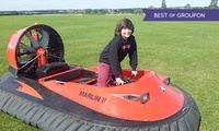 Hovercraft Driving: Five Laps (from £29) or Ten (from £34) at Experience Limits
